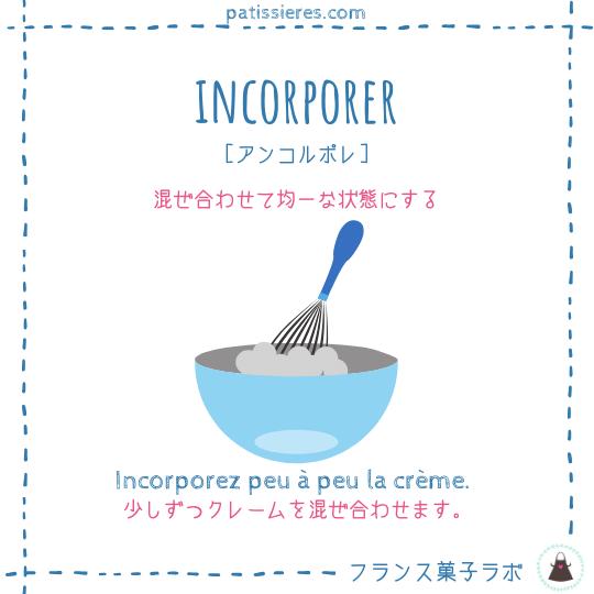 incorporer【混ぜ合わせる】