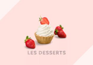 デザートの種類