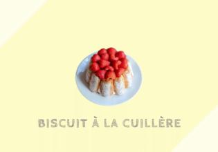 ビスキュイ・ア・ラ・キュイエール Biscuit à la cuillère