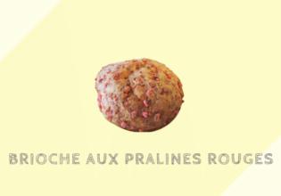 ブリオッシュ・オ・プラリン・ルージュ Brioche aux pralines rouges