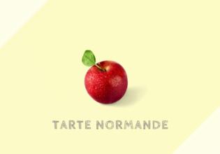 タルト・ノルマンド Tarte normande