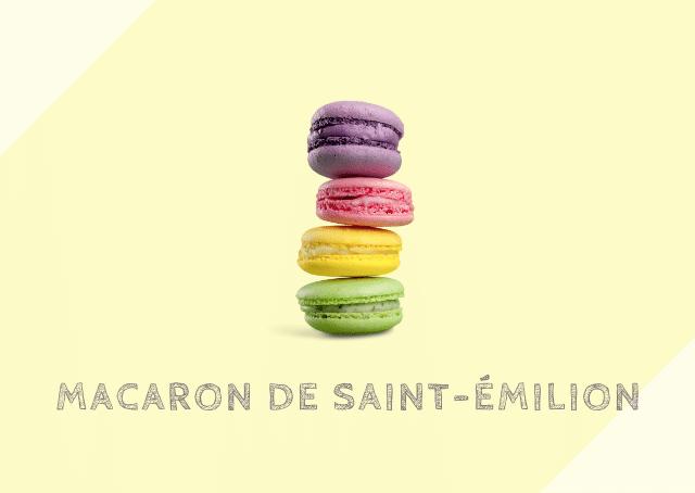 サン=テミリオンのマカロン Macaron de Saint-Émilion